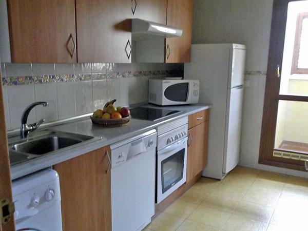 Apartamento para 6 personas. Cocina.