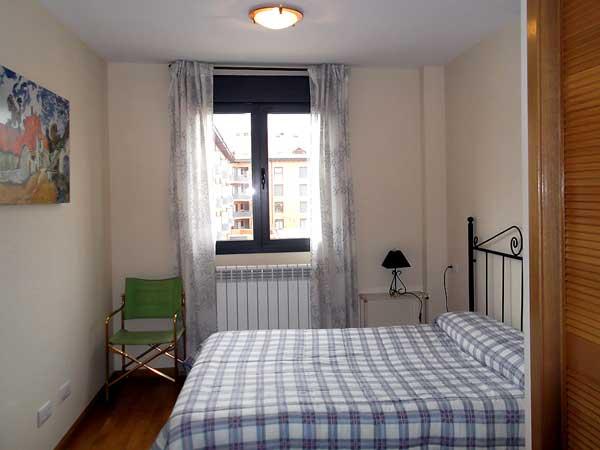 Apartamento para 6 personas. Habitación doble.