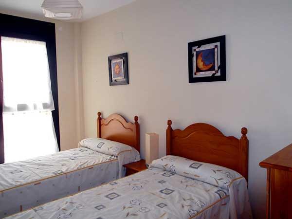 Apartamento para 4 personas. Habitación doble.